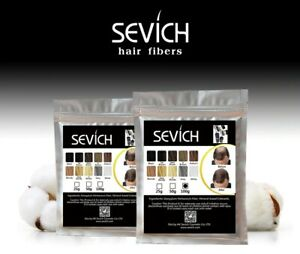 Sevich 10 Color, Hair Building &Thickening Fiber Hair Loss Products 50g/100g.