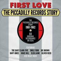FIRST LOVE-PICADILLY RECORDS STORY 1961-62 Dave Clark Five, Al Saxon 3 CD NEW!