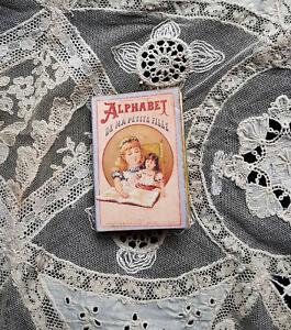 Rare ! alphabet abécédaire pour poupée ancienne