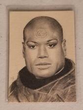 Original Richard Salvucci Sketch ACEO - Christopher Judge Teal'c - Stargate SG1