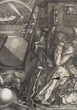 Kunstkarte: Albrecht Dürer - Melancholia
