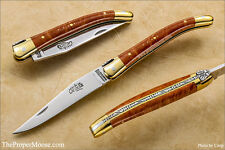 Authentic 9cm Forge de Laguiole Pocket Knife - Briar - Best Pocket Knife in the