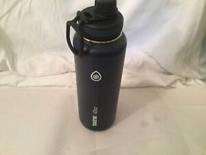 Takeya Insulated Stainless Steel Water Bottle, 40 Oz Navy Blue  EUC Fast Ship