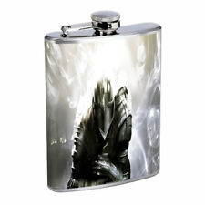 Knight Em1 Flask 8oz Stainless Steel Hip Drinking Whiskey