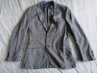 Brooks Brothers Regent Men's Reda Blue Blazer Jacket Size UK 38R - Good Used