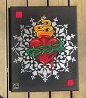 sacred heart Mandala Painting