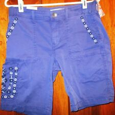 Sonoma Women's Bermuda Shorts NWT Size 8 Nice Color and Designs