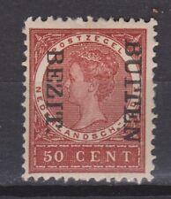 Nederlands Indie Netherlands Indies 96f MLH CANCEL BUITEN BEZIT kopstaand 1908