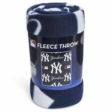 New Northwest MLB New York Yankees Large Soft Fleece Throw Blanket