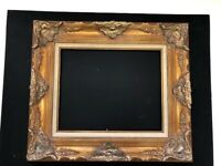 "FABULOUS Large VTG Ornate GOLD Extra Wide ~16""x 20"" (Art Size )"