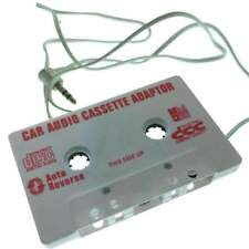 Car Cassette Tape Deck Adapter Compatible 3.5mm Jack Audio Mp3/Cd Player