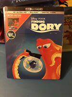 """Finding Dory"" Steelbook BestBuy Exclusive! 4K Ultra HD, Blu-Ray, & Digital Code"