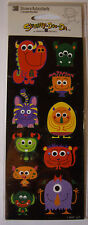 NEW 30 pc MONSTERS Scary Halloween Monster  STICKETY-DOO-DA Stickers
