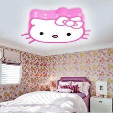 Fashion led cartoon ceiling lights lovely children's bedroom lamp Hello Kitty