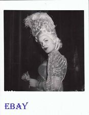 Cleo Moore sultry stare VINTAGE Photo