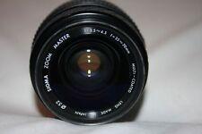 Sigma ZOOM MASTER per Minolta 35-70mm f/1:3.5-4.5 obiettivo manuale Multi Coated CAPS