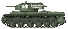 Tamiya Henglong KV-1 / KV-1E (Model 1940) Ekranami - 1/16 Scale Decals - NEW!!!
