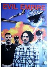 "RAGE AGAINST THE MACHINE POSTER ""EVIL EMPIRE / BANDPIC"""