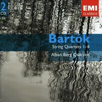 lban Berg Quartett - Bartok: String Quartets 1-6 [CD]