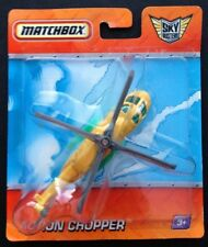 Matchbox SKYBUSTERS Diecast Helicopter ACTION CHOPPER, 2009 issue; free Aust.P&H