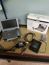 "Durabrand Model PDV-709 9"" Portable DVD Player Car Brand In The Box Rare"