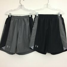 New listing Under Armour Loose Athletic Gym Workout Shorts Men's Size S  Gray Lot of 2