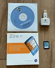 Palm Zire 71 Accessories Lot Software, SD/MMC Card Reader, Expansion Card 64 MB