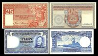 2x  10, 25 Gulden - Edition 1949 - Reproduction - NL 05