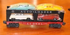 Lionel 6414 Evans Auto Loader with Brand New Madison Hardware Cars