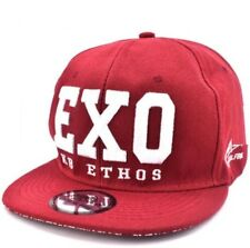 EXO Snapback Cap Visor for Men (maroon)