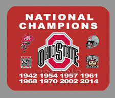 Item#428 Ohio State Buckeyes Football Championship Banner Mouse Pad