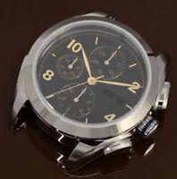 DIY SET: Watch Case + Dial + Hands for ETA Valjoux 7750  7753 Sapphire 42mm NEW