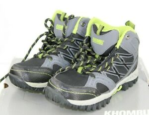 """NEW"" Khombu Kid's Brett All Seasons Hiker Boots Stone color Size 13 M"