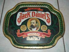 Vintage Advertising Jack Daniels Old No. 7 Whiskey Large Tin Serving Tray