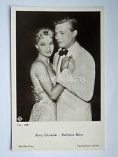 ROMY SCHNEIDER KARLHEINZ BOHM attrice cinema actor vecchia cartolina postcard