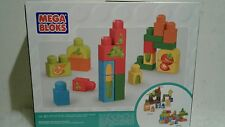 New Mega Bloks First Builders Stacking Snacks Building Kit 30pc