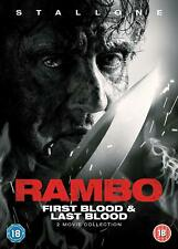 Rambo: First Blood & Last Blood [2019] (DVD) Sylvester Stallone