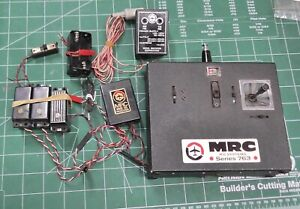 Vintage MRC Series 763 72MHz 3-Channel Aircraft R/C System - Tested and Working