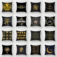 Decor Cushion Cover 18'' Case Pillow Waist Throw Home Polyester Sofa