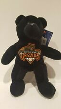 MLB SAN FRANCISCO GIANTS FOREVER COLLECTIBLES FRESNO GRIZZLIES BLACK TEDDY BEAR