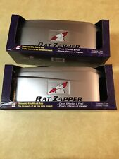 Rat Zapper RZU001 Battery Operated NO Bait Reusable Rat Mouse Trap NEW LOT OF  2