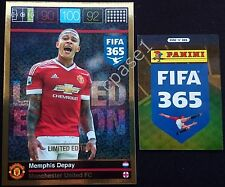 XXL Limited - Memphis Depay / Manchester United - Panini Adrenalyn XL FIFA 365