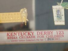 ky derby festival collector pins limited edition new in box