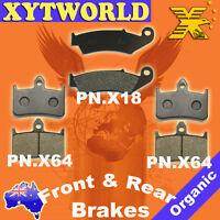 FRONT REAR Brake Pads for Honda VFR 400 NC30 1989-1992