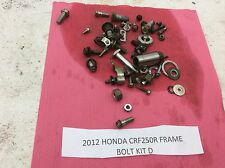 12 10-13 HONDA CRF250R CRF 250R 250 FRAME BOLTS MISCELLANEOUS NUTS PARTS D