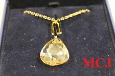 'New' Swarovski Jewellery Parallele Desert Glow Mini Pendant Gold Plated