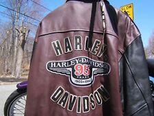 HARLEY DAVIDSON LEATHER JACKET 95th ANNIVERSARY XX-LARGE 2XL SPRINGER