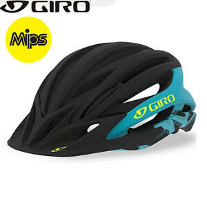 Giro Artex MIPS MTB Helmet - Black Iceberg Blue - Sizes S, M, L