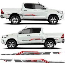 Toyota Hilux side TRD decals stickers stripes MK 7 & 8 AN101 AN20 AN120 AN130