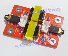 Audio Noise Filter Ground Loop Isolator Coupling Circuit Car PC AUX bueno